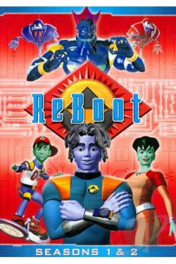 Reboot - The Complete First And Second Seasons DVD Cover Art