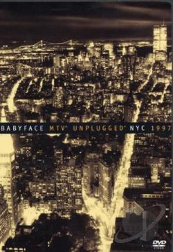 MTV Unplugged - Babyface NYC 1997 DVD Cover Art