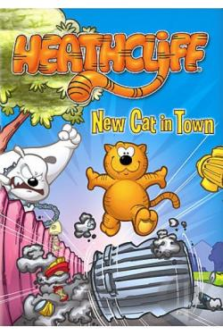 Heathcliff - New Cat In Town DVD Cover Art
