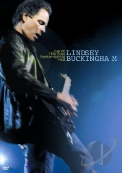 Lindsey Buckingham - Live at the Bass Performance Hall DVD Cover Art