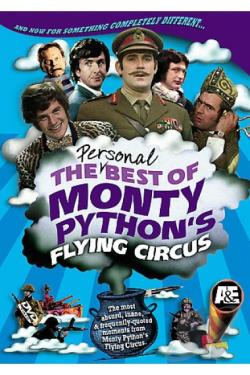 Personal Best of Monty Python's Flying Circus DVD Cover Art