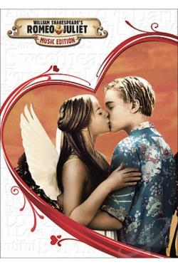 William Shakespeare's Romeo & Juliet DVD Cover Art