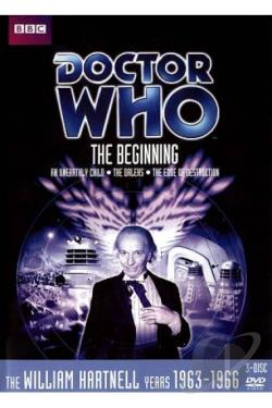 Doctor Who - The Beginning Collection DVD Cover Art