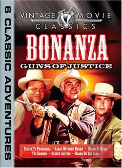 Bonanza - Guns Of Justice DVD Cover Art