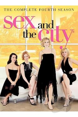 Sex and the City: The Complete Fourth Season DVD Cover Art