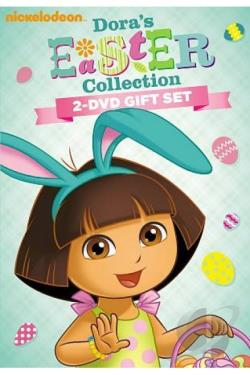 Dora the Explorer: Dora's Easter Collection DVD Cover Art
