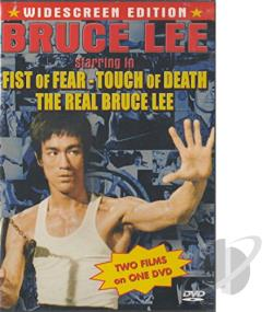 Fist of Fear, Touch of Death/The Real Bruce Lee DVD Cover Art