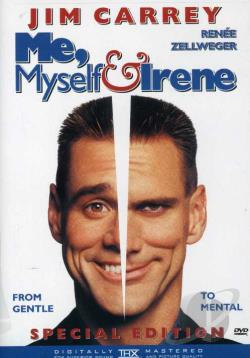 Me, Myself & Irene DVD Cover Art