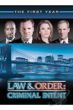 Law & Order: Criminal Intent - The First Year DVD Cover Art