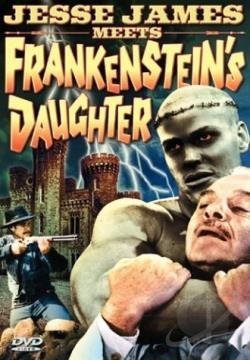 Jesse James Meets Frankenstein's Daughter DVD Cover Art