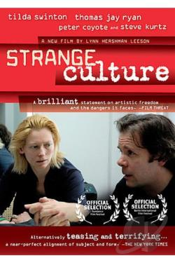 Strange Culture DVD Cover Art