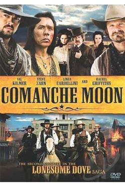 Comanche Moon - Second Chapter In The Lonesome Dove Saga DVD Cover Art
