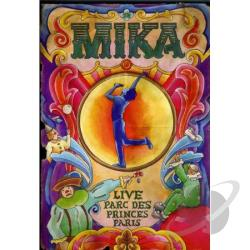 Mika - Live From Parc De Princes DVD Cover Art