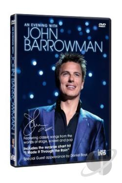 John Barrowman: An Evening With John Barrowman DVD Cover Art