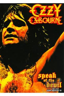Ozzy Osbourne - Speak of the Devil DVD Cover Art