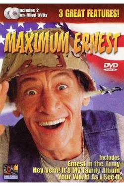 Maximum Ernest DVD Cover Art