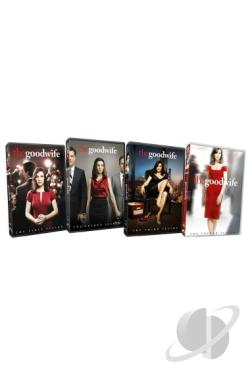 Good Wife: Seasons 1-4 DVD Cover Art