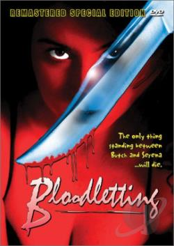 Bloodletting DVD Cover Art