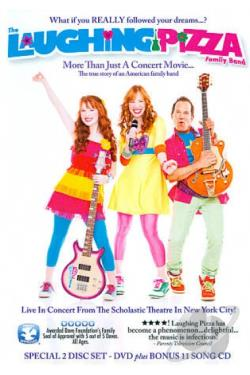Laughing Pizza: Live! DVD Cover Art