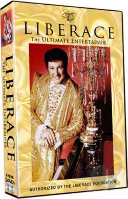 Liberace -The Ultimate Entertainer DVD Cover Art