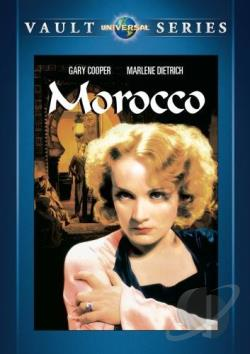 Morocco DVD Cover Art