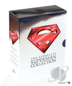 Complete Superman Collection DVD Cover Art