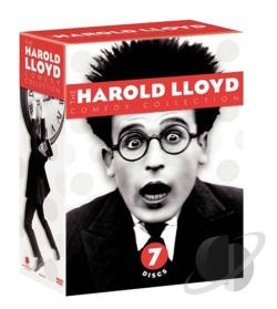 Harold Lloyd Comedy Collection DVD Cover Art