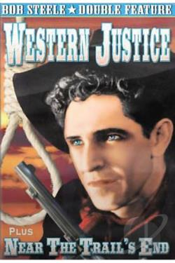 Western Justice/Near The Trail's End DVD Cover Art