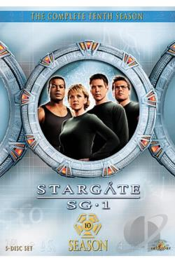 Stargate SG-1 - The Complete Tenth Season DVD Cover Art