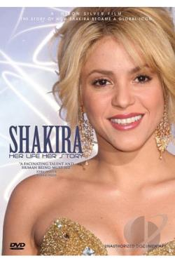Shakira: Her Life, Her Story - Unauthorized Documentary DVD Cover Art
