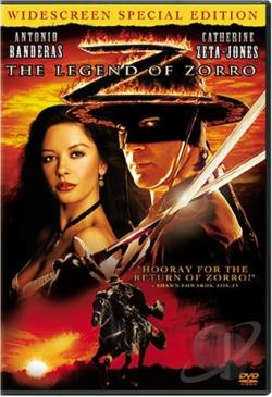 Legend of Zorro DVD Cover Art
