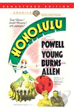 Honolulu DVD Cover Art