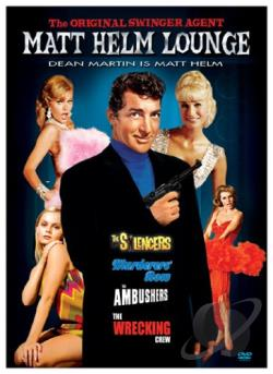 Matt Helm Lounge (Silencers/Wrecking Crew/Ambushers/Murderers' Row) DVD Cover Art