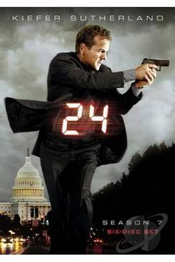 24 - The Complete Seventh Season DVD Cover Art