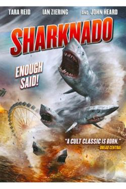 Sharknado DVD Cover Art