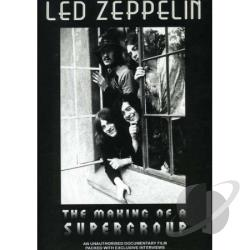 Led Zeppelin - Making of a Supergroup: Unauthorized DVD Cover Art