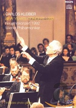 Kleiber / Vienna Philarmonic Orchestra: New Year's Concert 1992 DVD Cover Art