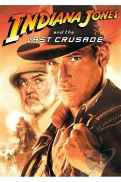 Indiana Jones & The Last Crusade DVD Cover Art
