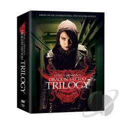 Girl With the Dragon Tattoo Trilogy DVD Cover Art