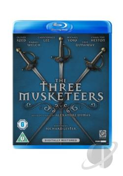 Three Musketeers BRAY Cover Art