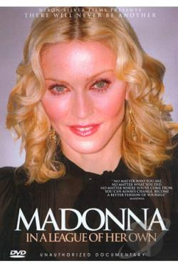 Madonna: In a League of Her Own - Unauthorized Documentary DVD Cover Art