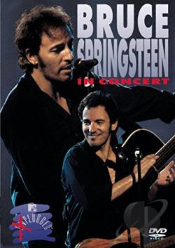 MTV Unplugged - Bruce Springsteen DVD Cover Art