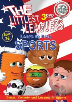 Littlest Leaguers Learn to Play - Sports Collection DVD Cover Art