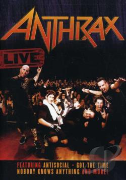 Anthrax - Live DVD Cover Art
