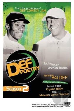 Russell Simmons Presents Def Poetry Jam: Season 2 DVD Cover Art