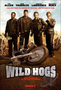 Wild Hogs DVD Cover Art