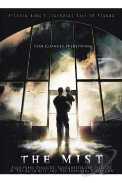 Stephen King's The Mist DVD Cover Art