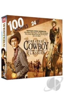 100 Greatest Cowboy Classics DVD Cover Art