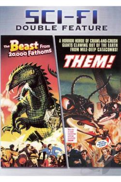 Them!/The Beast from 20,000 Fathoms DVD Cover Art