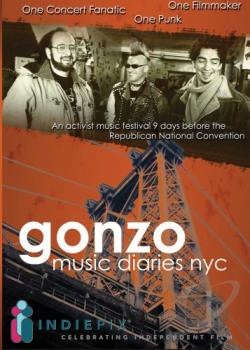 Gonzo Music Diaries, NYC DVD Cover Art